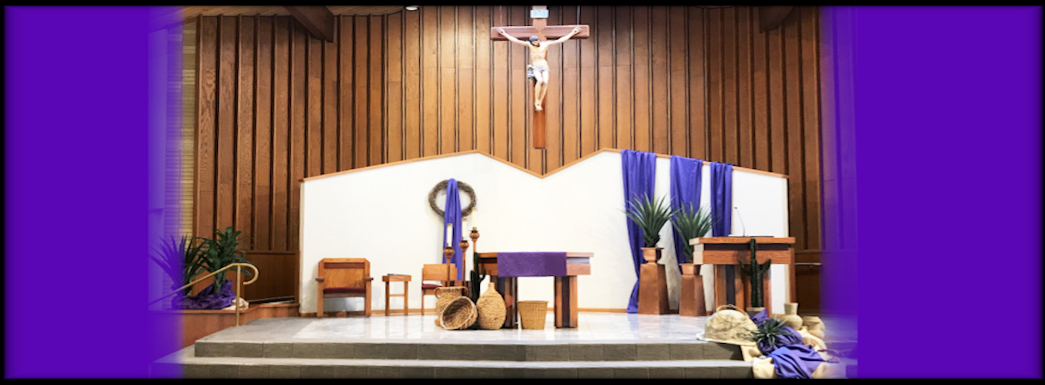 Lent - Welcome.